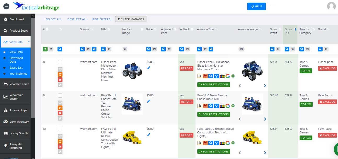 online arbitrage for amazon